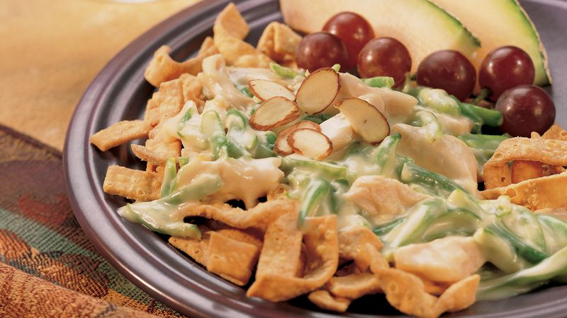 Chicken-Green Bean Casserole