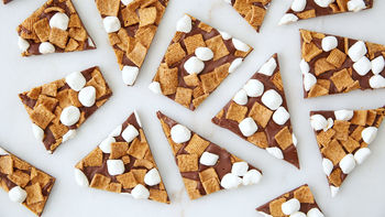 3-Ingredient S'mores Bark