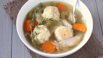 Crock Pot Chicken Matzo Ball Soup
