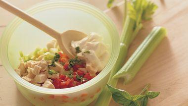 Basil Chicken Salad