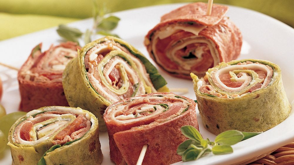 Beef and Provolone Pinwheels