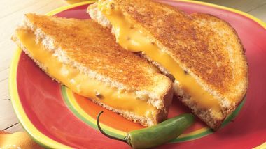 Mexican Grilled Cheese Sandwiches
