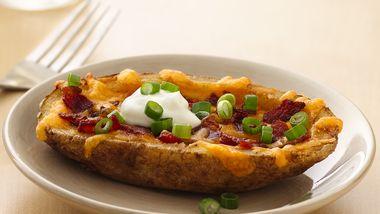 Cheesy Bacon Potato Skins