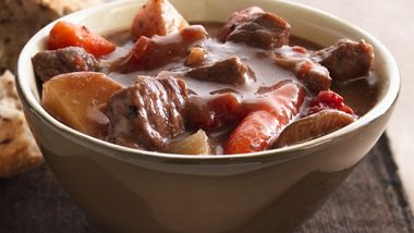 Slow-Cooker Beef Stew with Shiitake Mushrooms