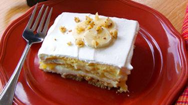 No-Bake Banana Split Dessert