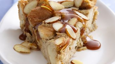 Apple and Caramel Bread Pudding