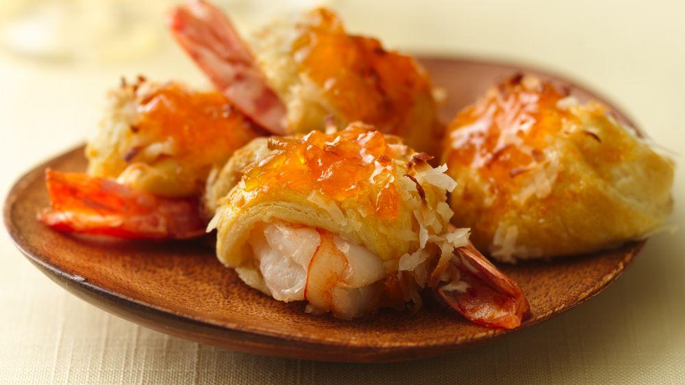 Island Coconut-Shrimp Rolls