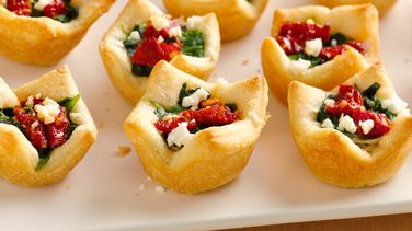 Spinach, Artichoke and Feta Bites