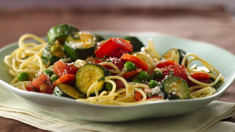 Garden Vegetable Spaghetti