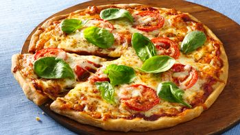 Gluten-Free Tomato and Mozzarella Pizza