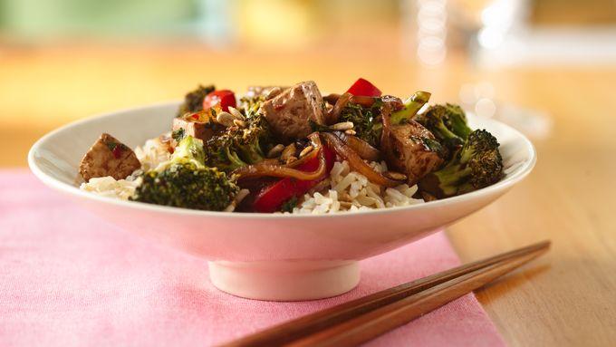 Tofu Stir-Fry with Black Bean Sauce