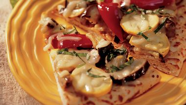 Roasted-Vegetable Pizza