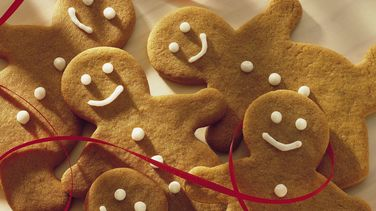 Whole Wheat Gingerbread Cutouts