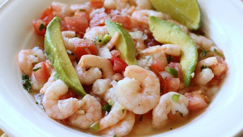 Shrimp Salpicón