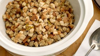Simple Slow-Cooker Stuffing