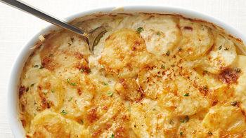Caramelized Onion Scalloped Potatoes