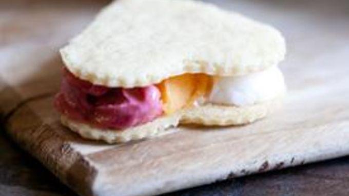 Neapolitan Sorbet Sandwiches recipe - from Tablespoon!