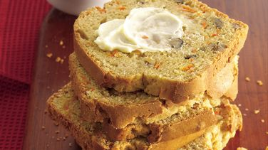 Ginger-Carrot-Nut Bread