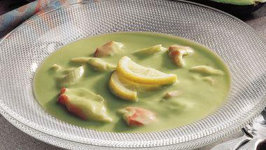 Avocado-Crab Soup