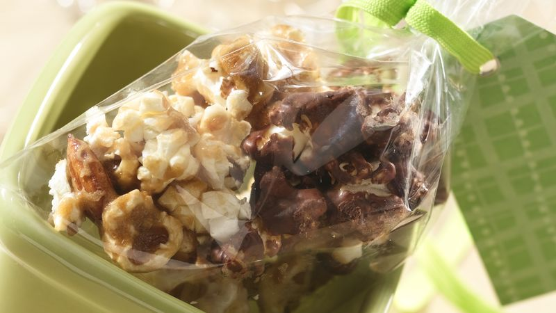 Chocolate-Covered Caramel Corn