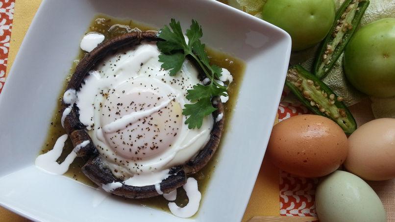 Huevos Portobello