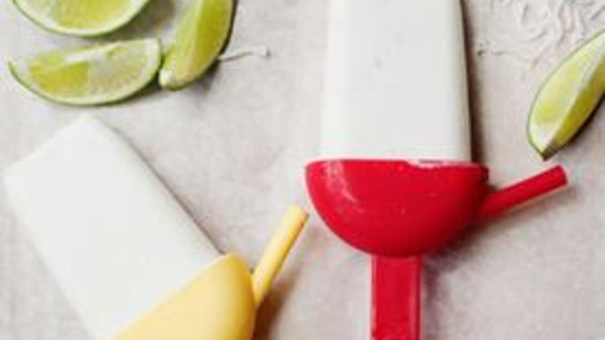 Coconut Lime Pops for Grown Ups