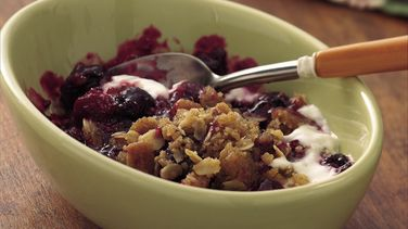 Triple-Berry Crisp