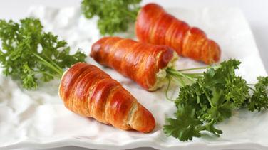 Zanahorias de Croissant Rellenas