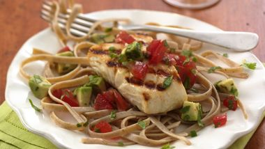 Heart Healthy Cookbook Grilled Halibut