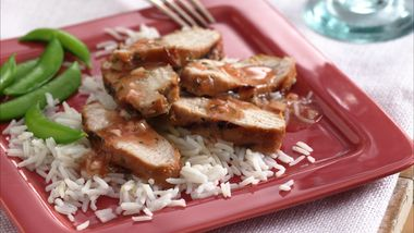 Plum-Glazed Turkey Tenderloins