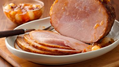 Slow-Cooker Ham with Fruit Chutney