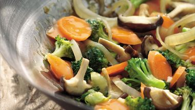 Stir-Fry Broccoli and Carrots