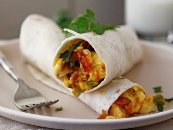 Scrambles Breakfast Burritos