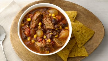 Slow-Cooker Mexican Beef Stew