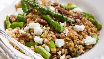 Asparagus Farro Salad