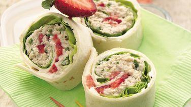 Chicken Salad Roll-Ups