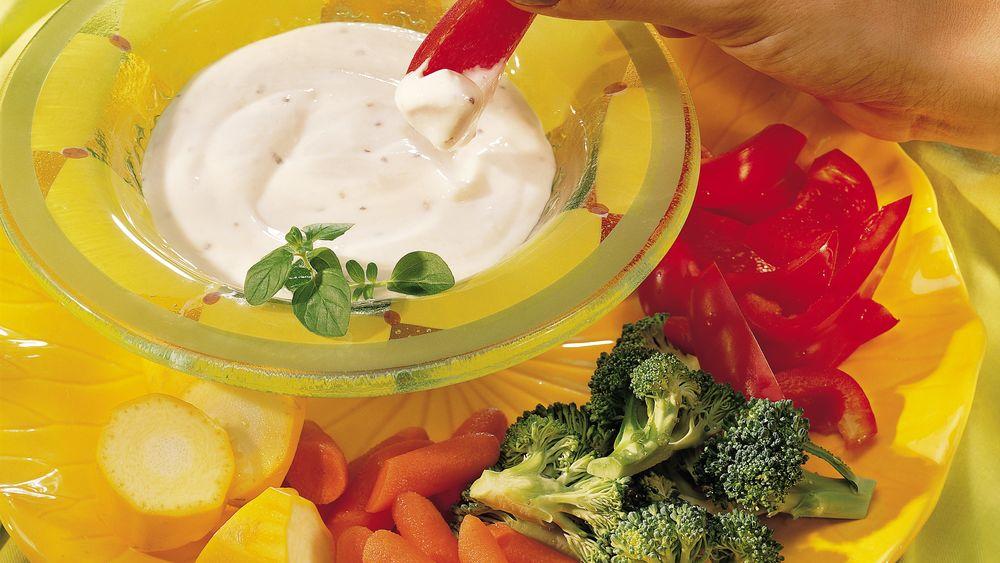 Zippy Vegetable Dip