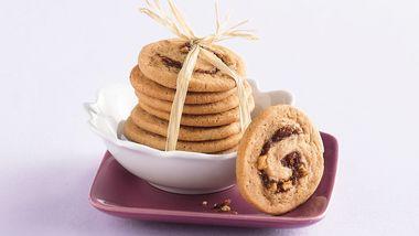 Apple-Date Swirl Cookies