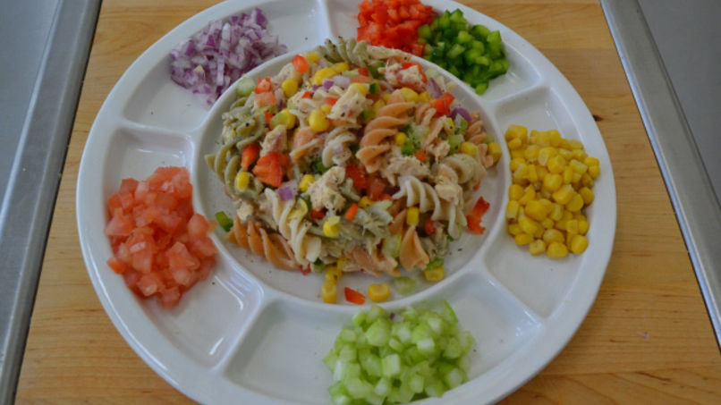 Colorful Tuna Salad