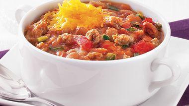 Spicy Chipotle Turkey Chili