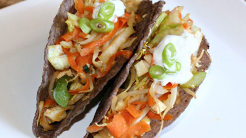 Thai Vegetable Tacos