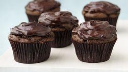 Cupcakes Veganos de Chocolate y Aguacate