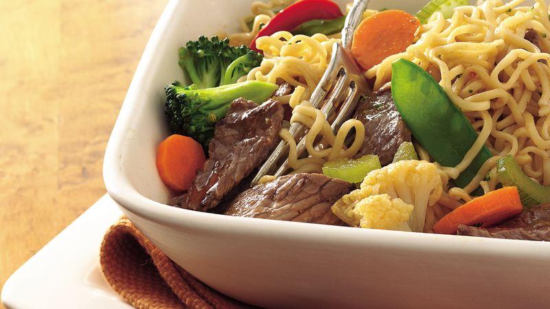 Easy Ramen Noodle Bowl