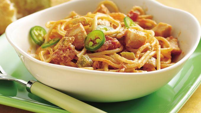 Chicken Spaghetti Olé