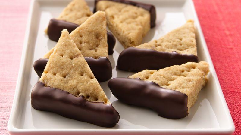 Ginger Shortbread Cookies