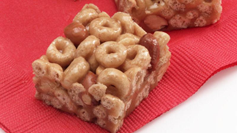 Gluten-Free Cheerios™ Honey-Peanut Cereal Bars