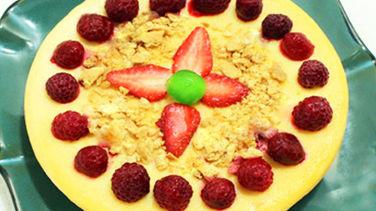 Torta de Queso y Limón en Olla de Cocción Lenta