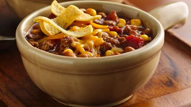 Barbecue Chili with Corn