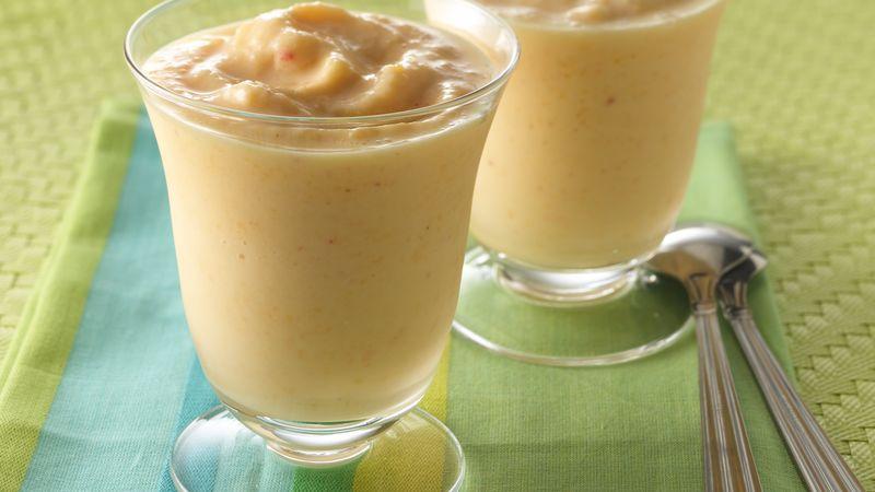Creamy Peach Smoothies