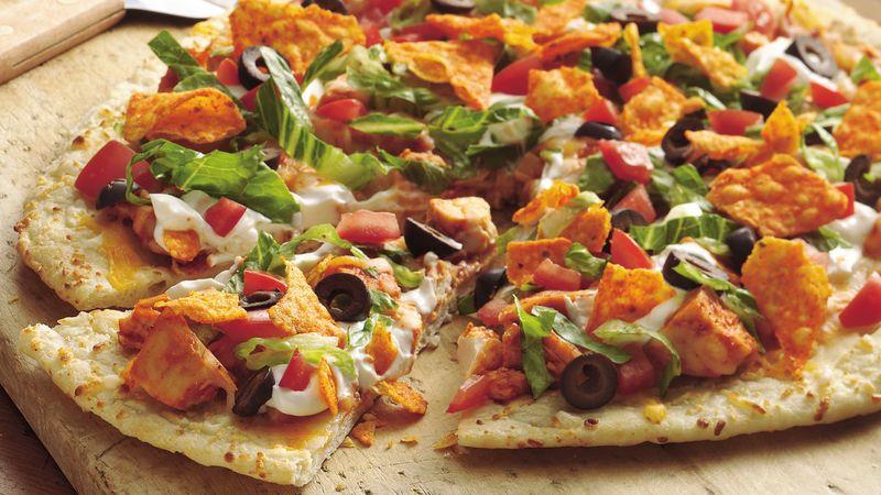 Chicken Taco Pizza